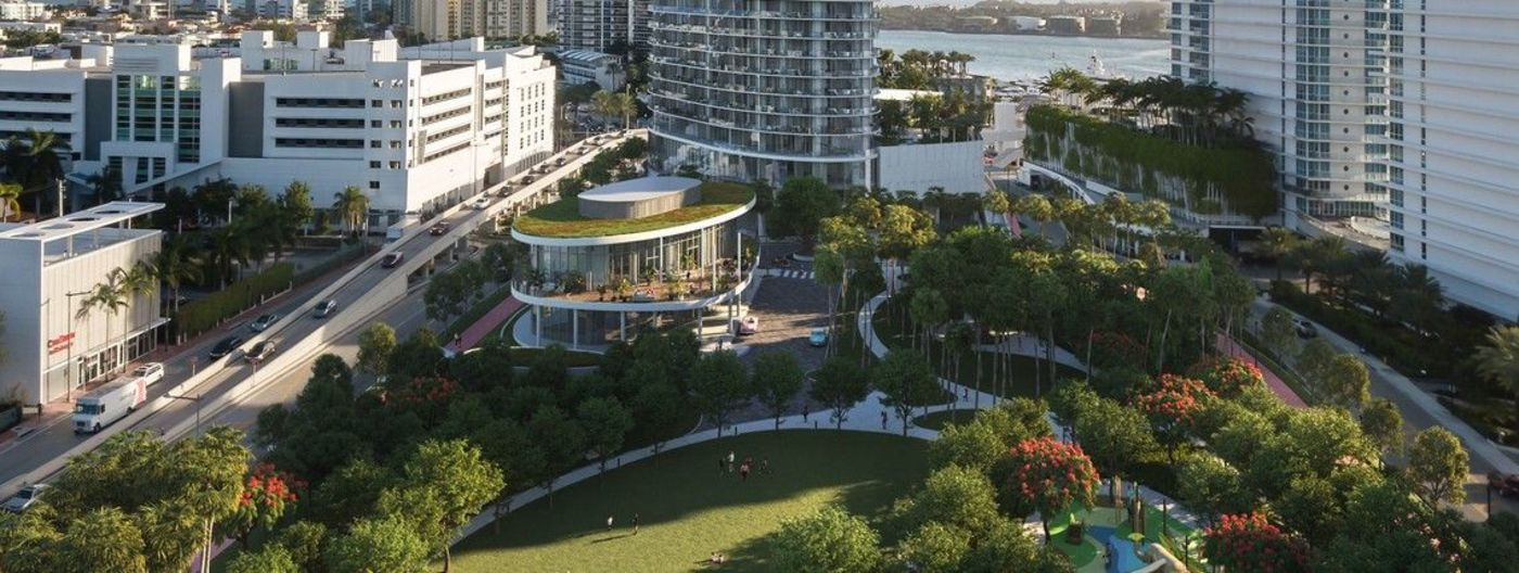 Public Park Construction at 500 Alton Road Announced by RE:MiamiBeach