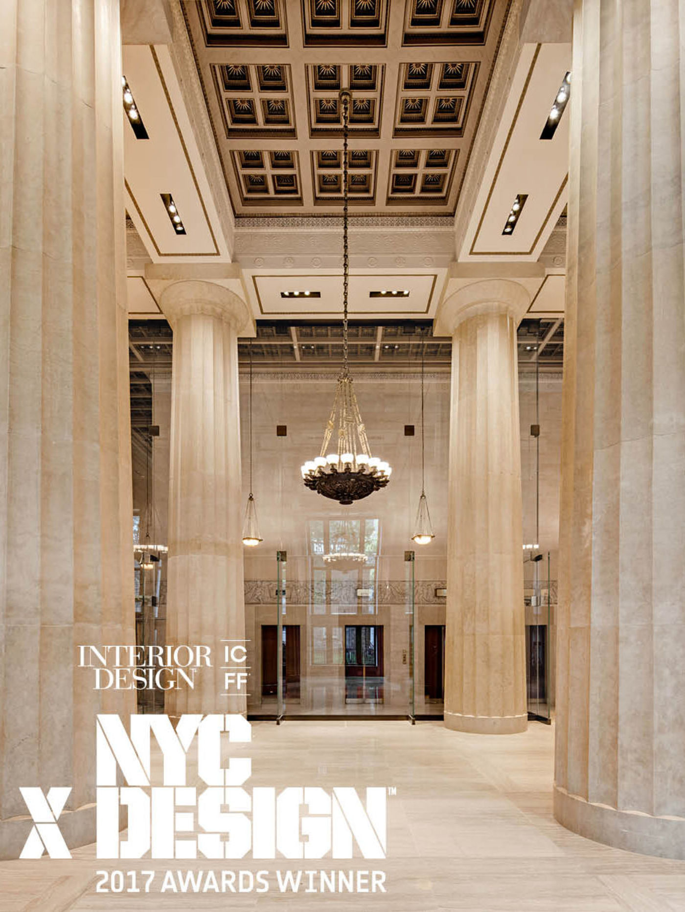 call for submissions nycxdesign awards residential interior design firms nyc 195 Broadway image with winner seal